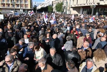 Συγκέντρωση την Τρίτη στις 12 μ. στην πλατεία Κλαυθμώνος ενάντια στην αθλιότητα της κυβέρνησης για την τροπολογία για την απεργία